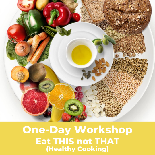 image for a Eat This Not That (Healthy Cooking) - Workshop
