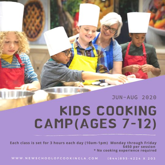 image for a Kids Cooking Camp (Ages 7-12)