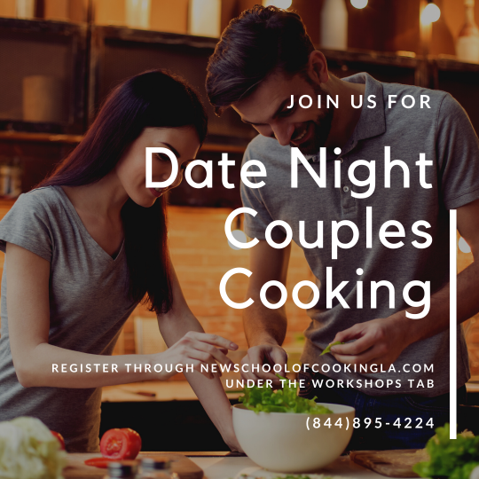 image for a Date Night Couples Cooking Class