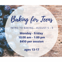 The image for INTRO TO BAKING TEEN SERIES