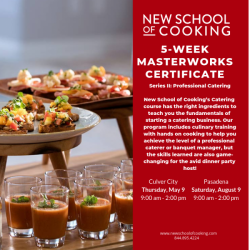 The image for Masterworks Certificate Program Series ll - Catering