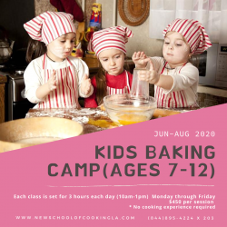 The image for Kids Camp - Basic Baking Day 1
