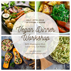 The image for Vegan Dinner Workshop