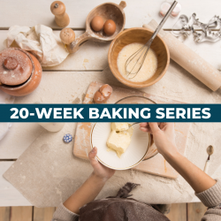The image for BAKING SERIES CLASS 2