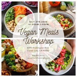 The image for Vegan Meals Workshop